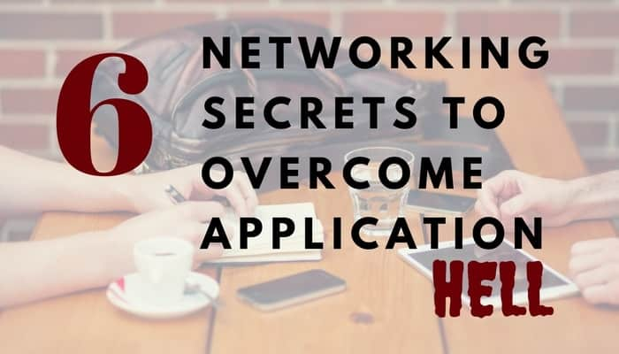 Networking Trumps Applications Anyday